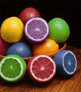 Pour faire le plein d'antioxydants naturels puissants , le programme : Mangez en couleurs !