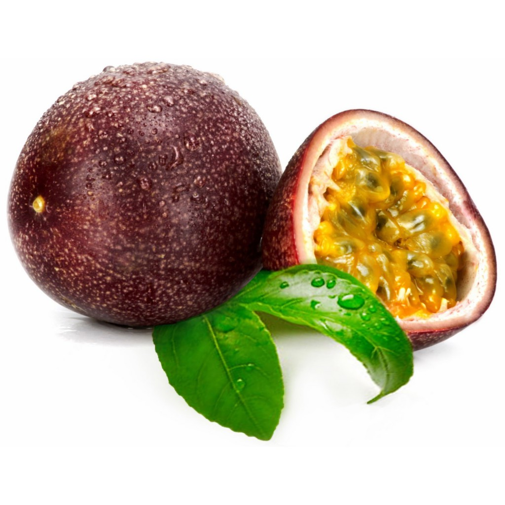 Le fruit de la passion riche en antioxydant bio