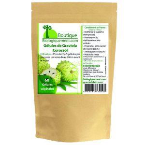 Acheter de la feuille et du fruit de graviola corossol bio un anticancer naturel sur la boutique Biologiquement.com